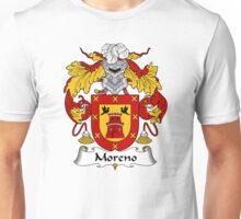 Moreno Coat of Arms/Family Crest Unisex T-Shirt