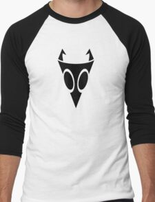 Irken Military Symbol (Black) Men's Baseball ¾ T-Shirt