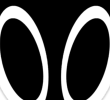 Irken Military Symbol (Black) Sticker