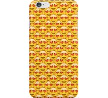 Heart Eyes Emoji Collage iPhone Case/Skin