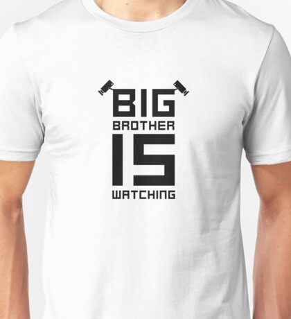 Big Brother George Orwell Surveillance State Unisex T-Shirt