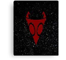Irken Military Symbol (Red) Canvas Print