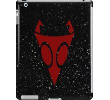 Irken Military Symbol (Red) iPad Case/Skin