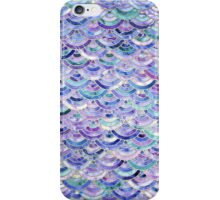 Marble Mosaic in Amethyst and Lapis Lazuli iPhone Case/Skin