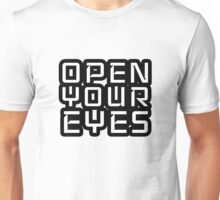 Open Your Eyes LSD Peace Freedom Unisex T-Shirt