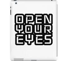 Open Your Eyes LSD Peace Freedom iPad Case/Skin