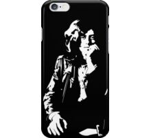 jimmy page legend black and white decal iPhone Case/Skin