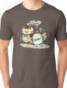 Blathers & Rowlet Unisex T-Shirt