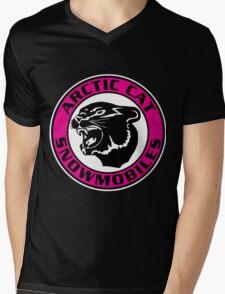 Arctic Cat Vintage Snowmobiles USA Mens V-Neck T-Shirt
