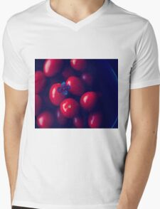 cherry tomatoes Mens V-Neck T-Shirt