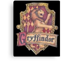 Gryffindor Crest Canvas Print