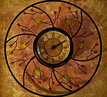 Grandma's Old Antique Clock by Scott Mitchell
