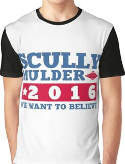 Scully & Mulder Campaign 2016 Graphic T-Shirt