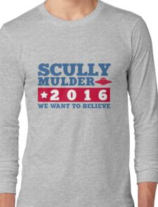 Scully & Mulder Campaign 2016 Long Sleeve T-Shirt