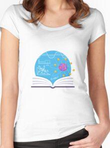 Physics Emblem Women's Fitted Scoop T-Shirt