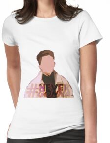 #NeverGonna Womens Fitted T-Shirt