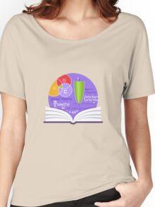 Mathematics Emblem Women's Relaxed Fit T-Shirt