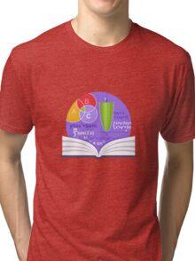 Mathematics Emblem Tri-blend T-Shirt