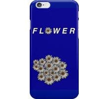 F L O W E R (Blue) by Reign iPhone Case/Skin