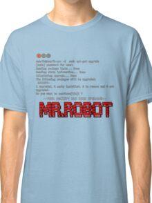 Terminal Code Mr.Robot Classic T-Shirt