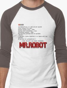 Terminal Code Mr.Robot Men's Baseball ¾ T-Shirt