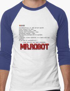 Terminal Code Mr.Robot Men's Baseball ¾ T-Shirt