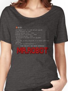 Terminal Code Mr.Robot Women's Relaxed Fit T-Shirt