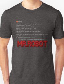 Terminal Code Mr.Robot Unisex T-Shirt