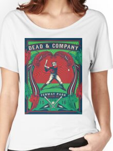 DEAD AND COMPANY SUMMER TOUR 2016 FENWAY PARK BOSTON ,MA Women's Relaxed Fit T-Shirt