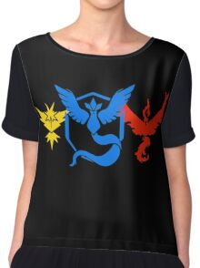 Pokemon Go Teams Chiffon Top