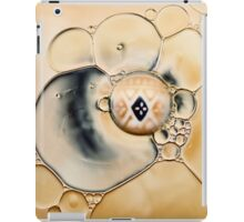 oil and water abstract iPad Case/Skin