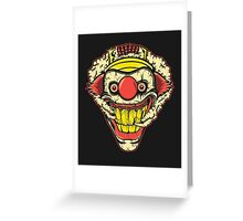 TWISTED METAL Greeting Card