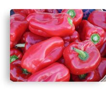 Red Peppers Canvas Print