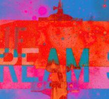 Blue Dream Street Sticker