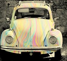 groovy beetle by Ingrid Beddoes