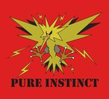 Pure Instinct Zapdos  Kids Tee