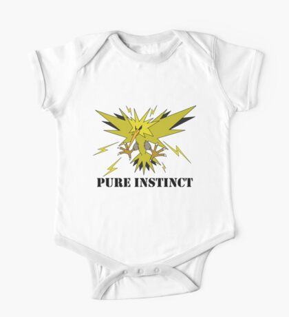 Pure Instinct Zapdos  One Piece - Short Sleeve
