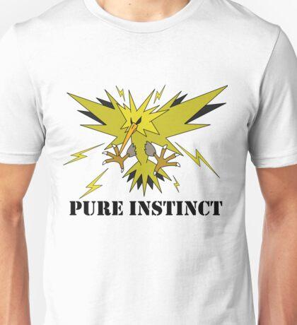 Pure Instinct Zapdos  Unisex T-Shirt