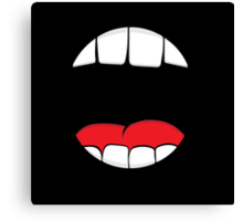 Monster Mouth Canvas Print