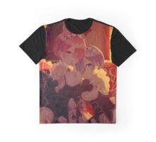 Re:Zero kara Hajimeru Isekai Seikatsu - Rem & Ram Graphic T-Shirt