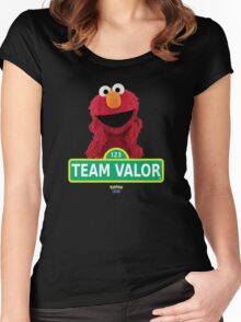 Sesame Street - Team Valor Women's Fitted Scoop T-Shirt