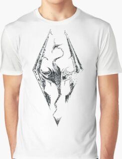 Skyrim Logo Graphic T-Shirt