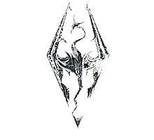 Skyrim Logo Photographic Print