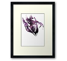 Atropos The Bane Elemental Framed Print
