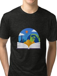 Geography Emblem Tri-blend T-Shirt