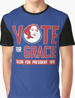 Gracie Allen for President Graphic T-Shirt