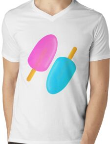 Ice lolly Mens V-Neck T-Shirt