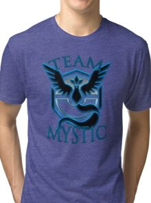 [Pokemon Go] Team Mystic t-shirt Tri-blend T-Shirt