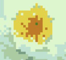 8bit lotus Sticker