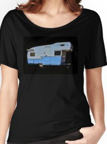Vintage Travel Trailer Women's Relaxed Fit T-Shirt